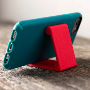 phone stand in red
